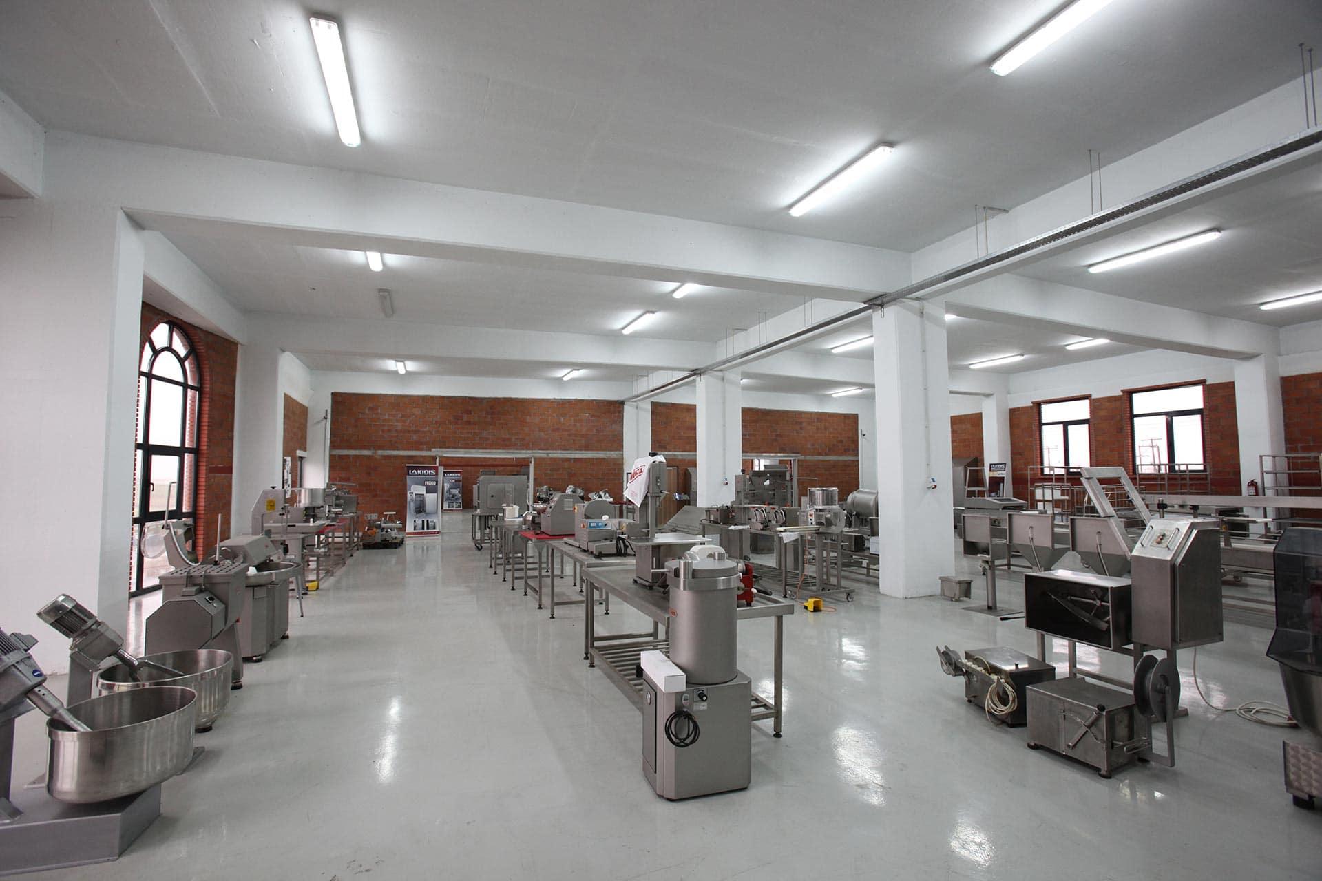 Lakidis Food Machinery - Εκθεσιακός χώρος