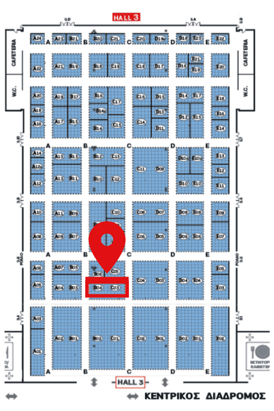 Exhibition Floor Plan (HALL 3)