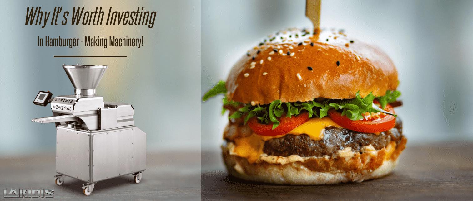 Γιατί αξίζει να επενδύσεις στις Hamburger – Making Machines !
